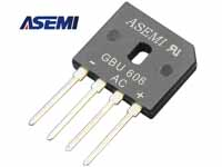 ASEMI整流桥GBU606