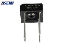 ASEMI整流桥KBPC1010(自带散热片)