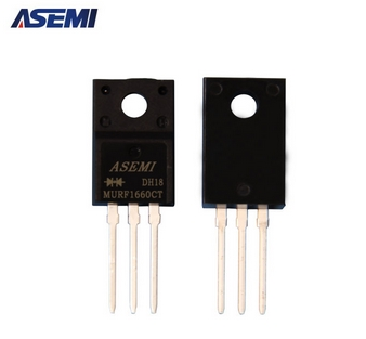 MURF1660CT超快恢复二极管,ASEMI品牌