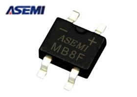 整流桥堆MB8F,ASEMI品牌