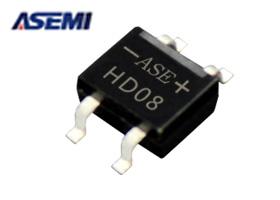 整流桥HD08,ASEMI品牌
