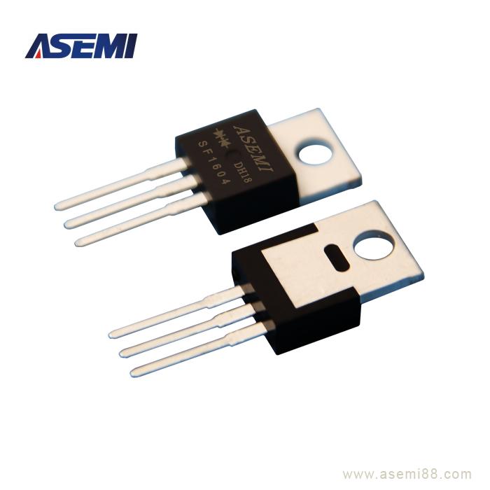 SF1604  超快恢复二极管,ASEMI品牌